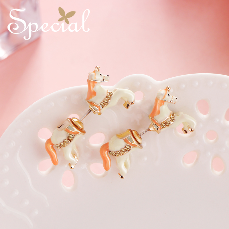The SPECIAL New Fashion personality creative earrings  sterling 925 silver needle female fashion for S1867E