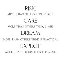 Quotes About Caring Awesome Wall Sticker Risk Care Dream Expect Quote Vinyl Wall Decal