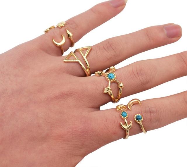Aliexpress Buy 6 Pcsset New Fashion Bohemian Silver Finger