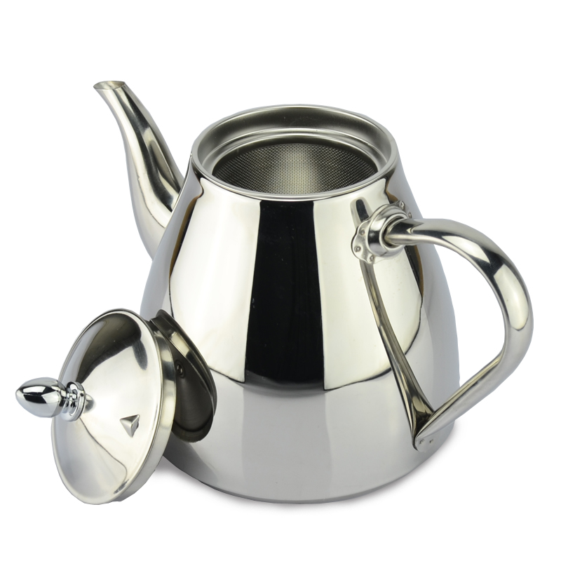 New style stainless steel tea pot and coffee drip kettle