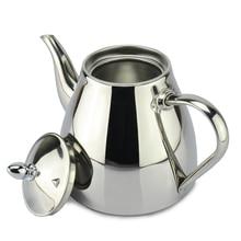 Nuevo estilo de acero inoxidable olla de Té y Café Cafetera De Goteo pot tetera con filtro de acero inoxidable Hervidor de agua caliente para Barista
