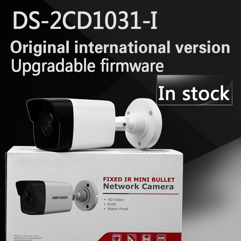 In stock DHL free shipping English version DS-2CD1031-I replace DS-2CD2035-I 3MP bullet cctv network camera