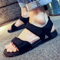 Moda 2017 nuevas sandalias de malla sandalias de goma para femenino y masculino de verano sandalias sólidas amantes Ocasionales al aire libre diapositivas beash