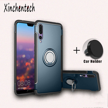 Shockproof Armor Case For Huawei P30 Pro P20 Lite Mate 20 With Holder Cover On Honor 20 Pro 20S 10i 10 Lite View 10 20 Fundas image