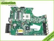 DA0BLBMB6F0 For Toshiba Satellite L755 Laptop Motherboard Intel hm65 ddr3 Socket pga989 A000080670 REV F0