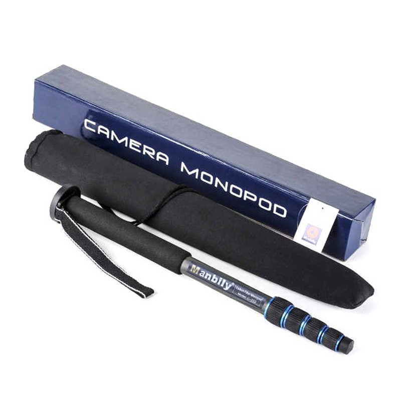 Manbily C-222 Carbon Fiber Professionel Video Telefon Monopod Kamera - Kamera og foto - Foto 4