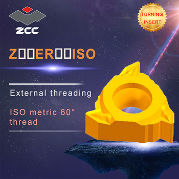 10pcs/lot Z16ER0.5-3.0ISO YBG205 YBG203 original ZCC carbide insert lathe tools cnc carbide threading inserts
