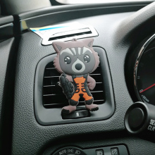 Cartoon Air Freshener Clip Sachet Car Styling Perfume For Condition Vent The Spiderman Guardians of the Galaxy Fans