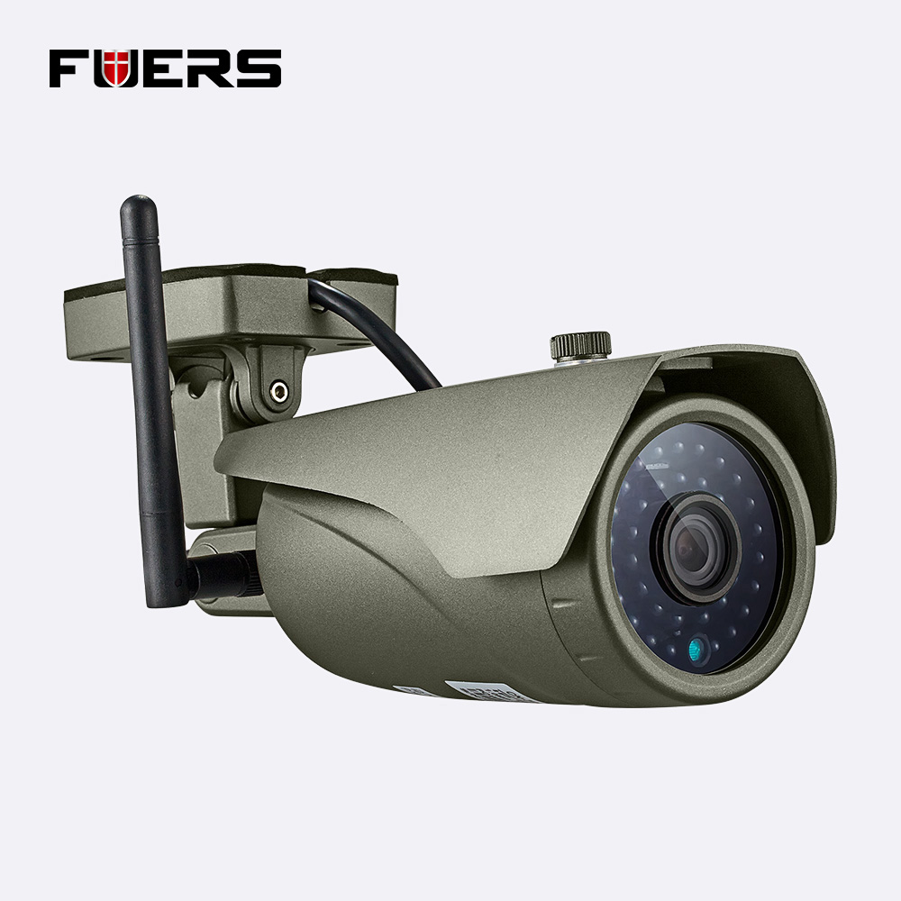 Wireless Outdoor Wifi Ir Cut Ip Camera 1080P Full HD 2MP Cmos Security CCTV Ip Camera Alarm Pt For Wifi And Gsm Sms Alarm System