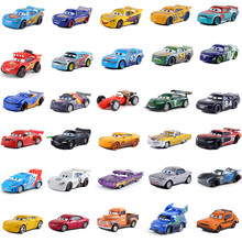 Автомобили disney Pixar машина 3 автомобиль 2 Маккуин автомобиль Игрушка 1:55 литой металлический сплав модель игрушки детские игрушки День рождения Рождественский подарок