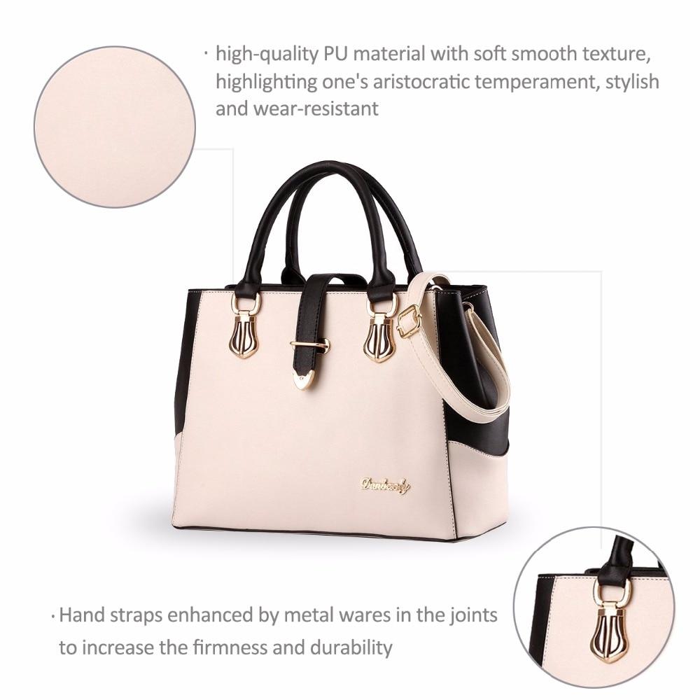 d6c0cad3b Nicole&Doris New Handbag Female Women Bag Shopping Bag Casual Shoulder Bag  Cross body Work bag Handbags For Girls-in Top-Handle Bags from Luggage &  Bags on ...