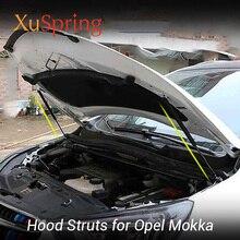 цена на Front Hood Supporting Hydraulic rod Lift Strut Spring Shock Bars Bracket For Opel Vauxhall Mokka X 2013 2017 2018 2019