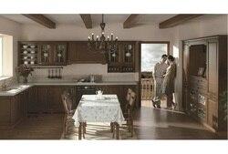 Деревянные настенные кухонные шкафы (LH-SW052)