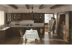 wooden wall mount kitchen cabinets(LH-SW052)