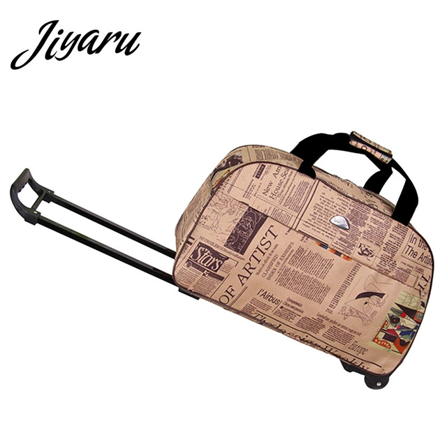 Rolling Luggage Travel Bag On Wheels Trolley Luggage Shopping Travel Suitcases for Girls Women Hand Luggage Boarding Trolley