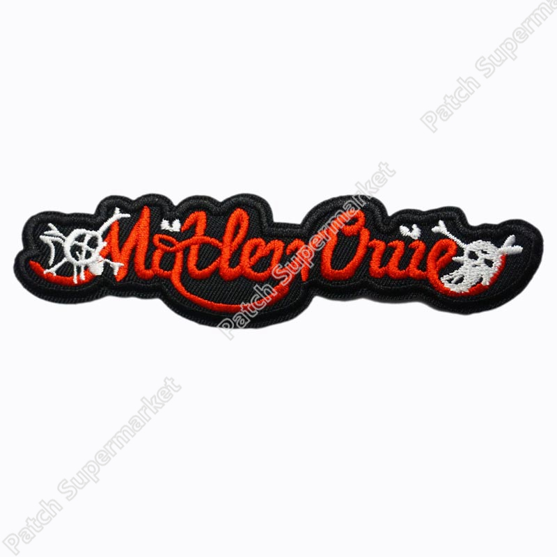 MOTLEY CRUE Logo Music Band Embroidered NEW IRON ON and SEW ON Patch Heavy Metal Custom design patch available clothes stickers