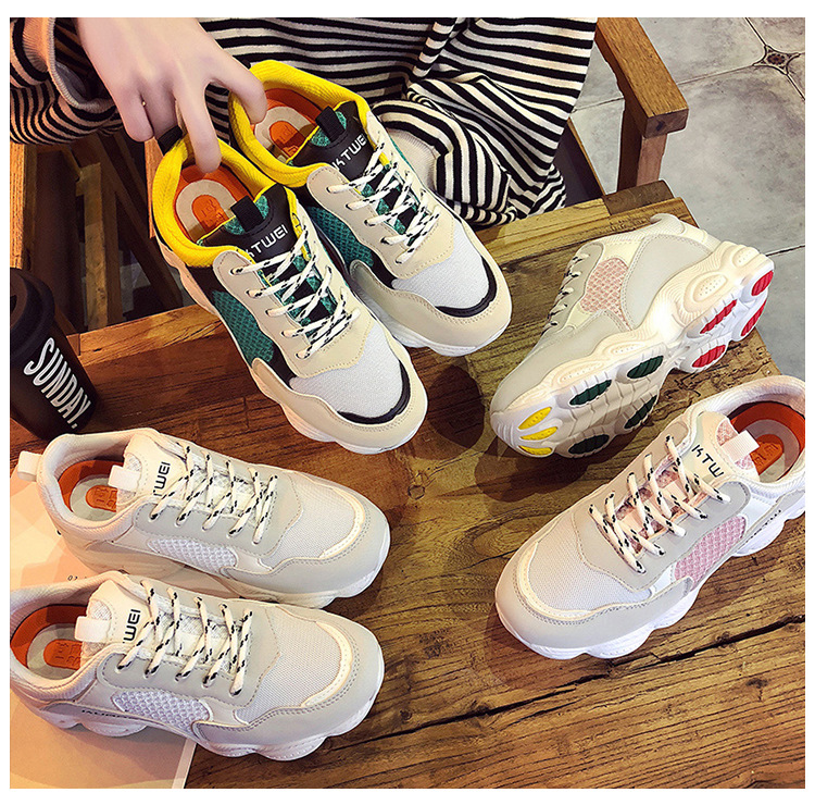 1  New itemizing sizzling gross sales Spring and Autumn web Breathable sneakers girls trainers DKS-186 HTB1EtlHm8DH8KJjy1zeq6xjepXaf