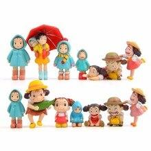 цена на 14 Styles Kawaii My Neighbor Totoro Action Figure Hayao Miyazaki Film Miniature Figurines Toy Japanese Anime Figures Toy For Kid