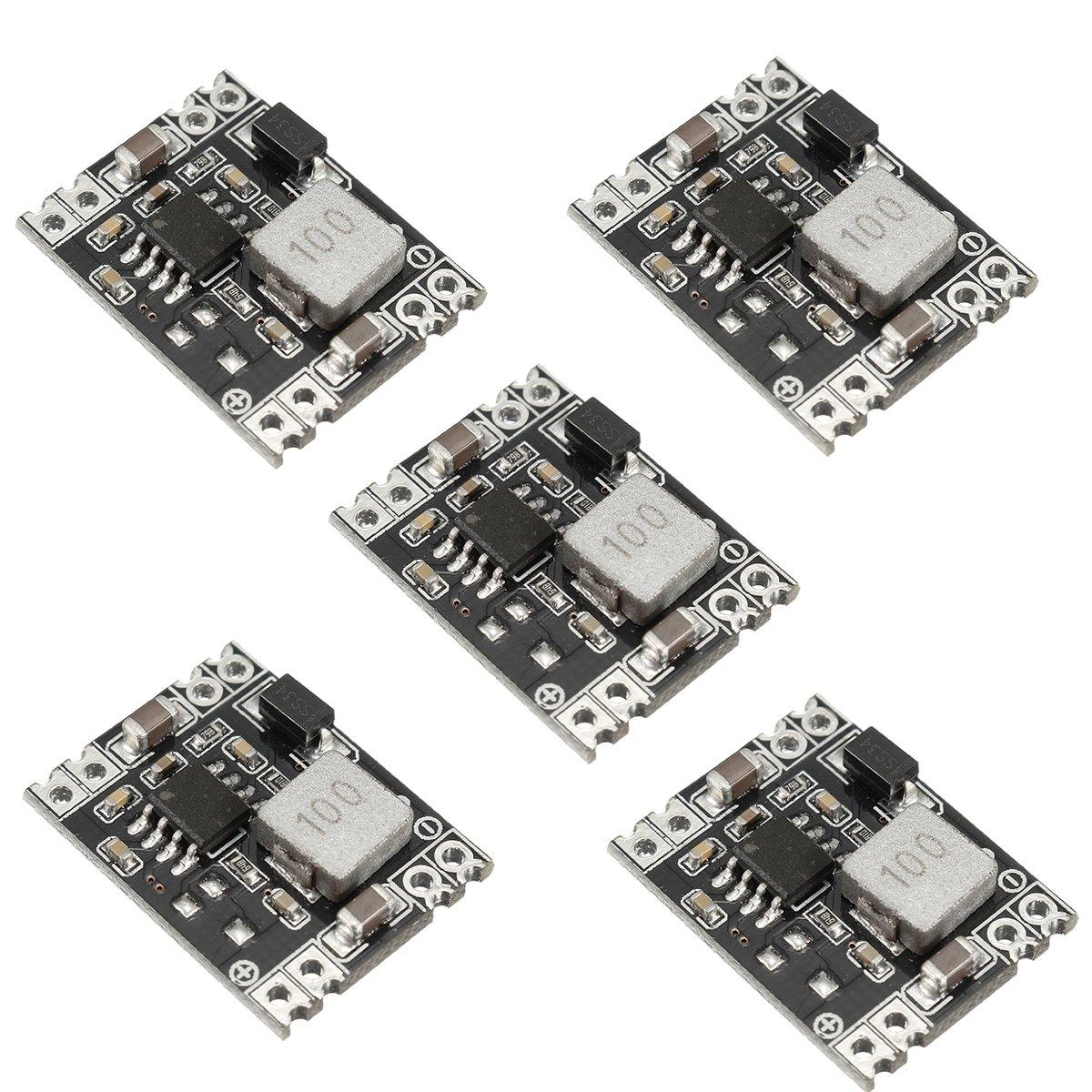 Dual Usb Circuit Board Output 9v 12v 24v 36v To 5v Dc 3a Step Diagram Power Supply Circuits Fixed 5pcs Module Kit Buck Down Regulator