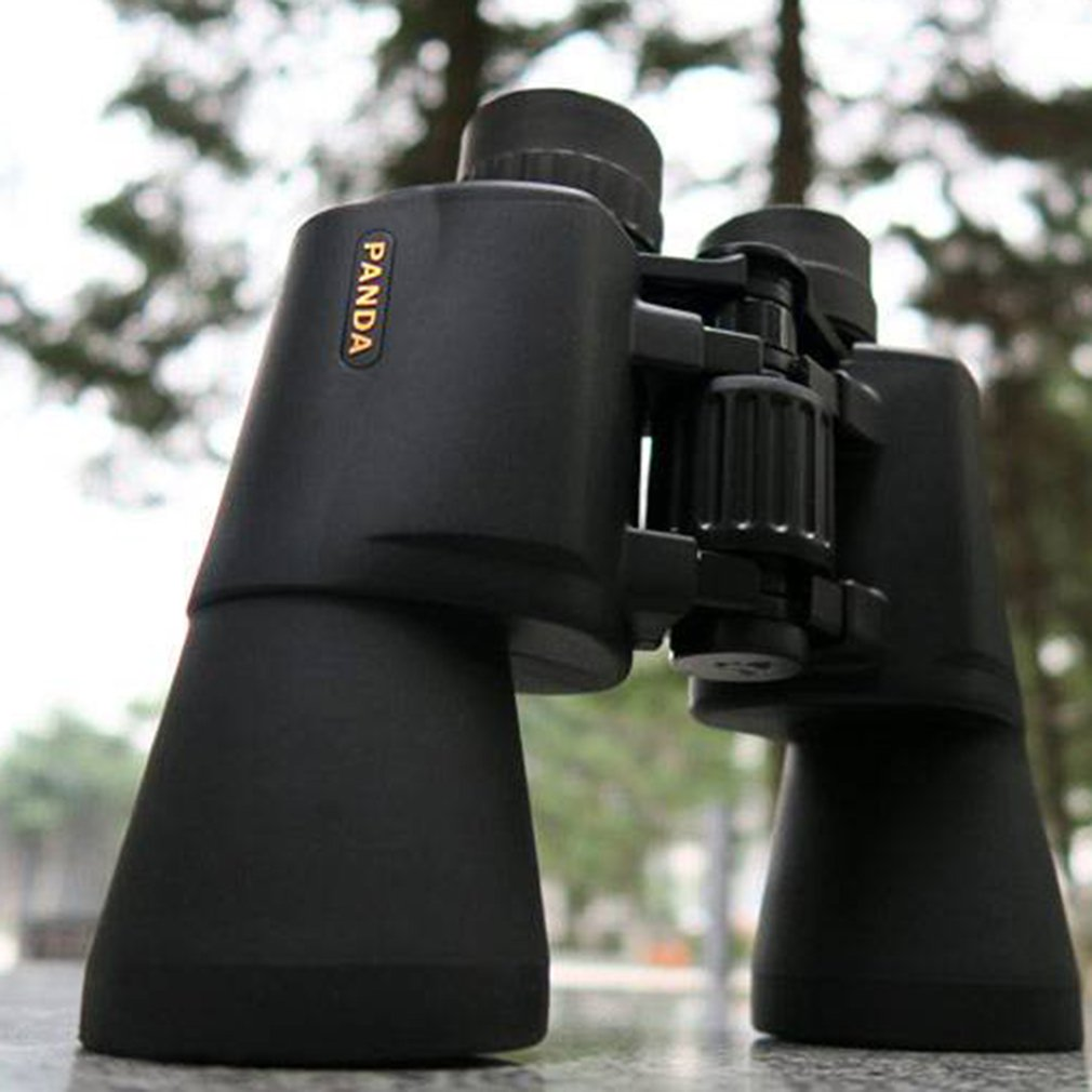 10X50 Binocular Telescope HD Vision Wide-angle K9 Prism Blue Film Professional Outdoor Hunting Telescope for Travel Concert NEW hd binocular 12x nitrogen waterproof binocular non infrared night vision telescope green film bak7 prism for hiking hunting