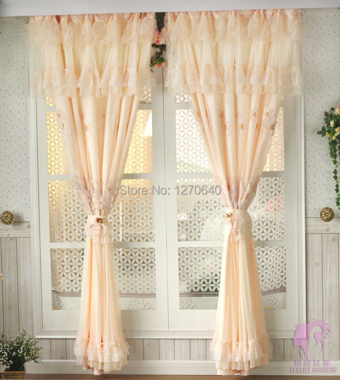 Huayin Velvet Linen Curtains Tulle Window Curtain For: Fashion Home Decor Rustic Embroidery Lace Curtains Window