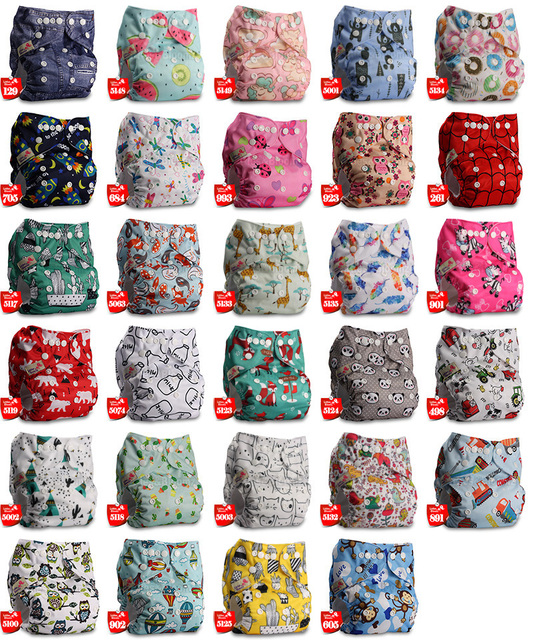 Baby Washable Reusable Real Cloth Pocket Diaper
