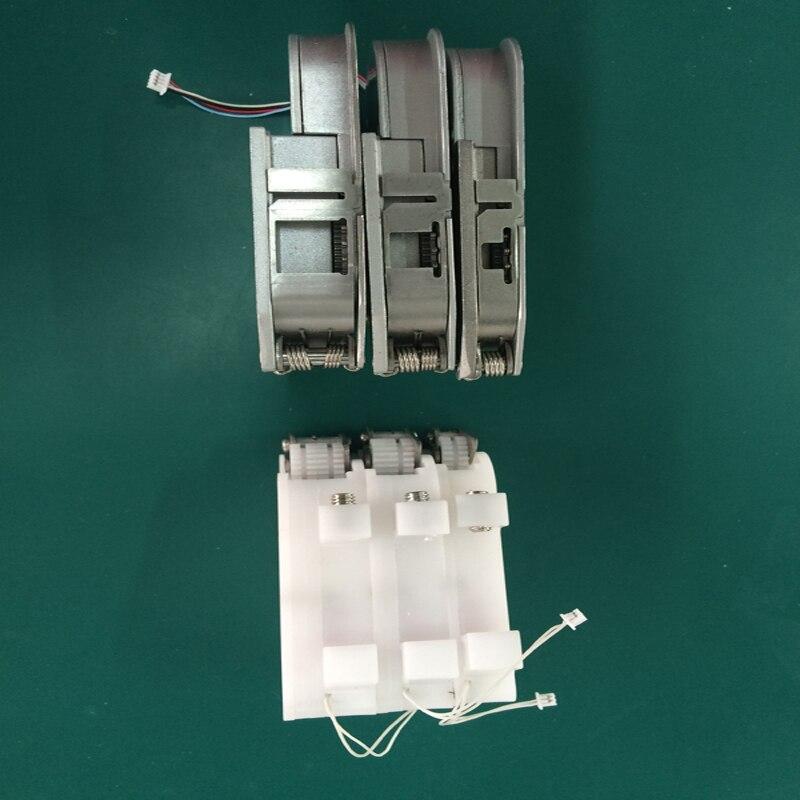 8mm SMT alimentation électrique en modèle NeoDen4 Pick et Place machine, combiner par boîte d'alimentation et boîte de peel