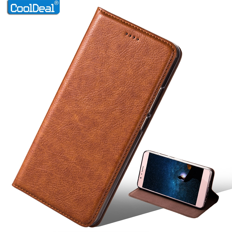 CoolDeal Original Flip Leather Case For Ulefone Power 2 Cover Vintage All-inclusive Protection Leather Case