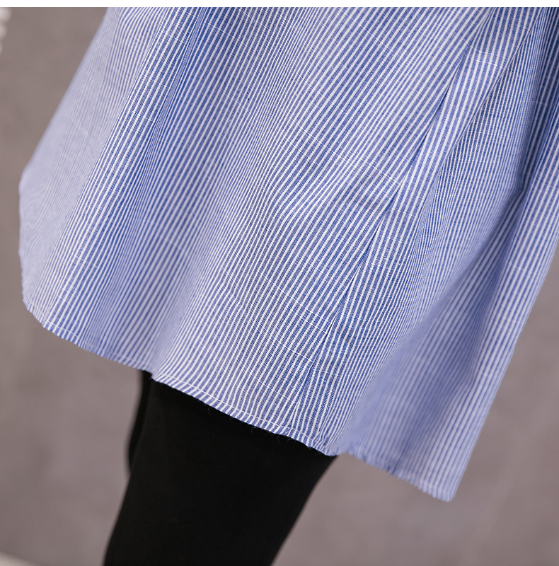 0fc2af99f Pengpious moda estilo coreano mujeres embarazadas ropa stripe ...