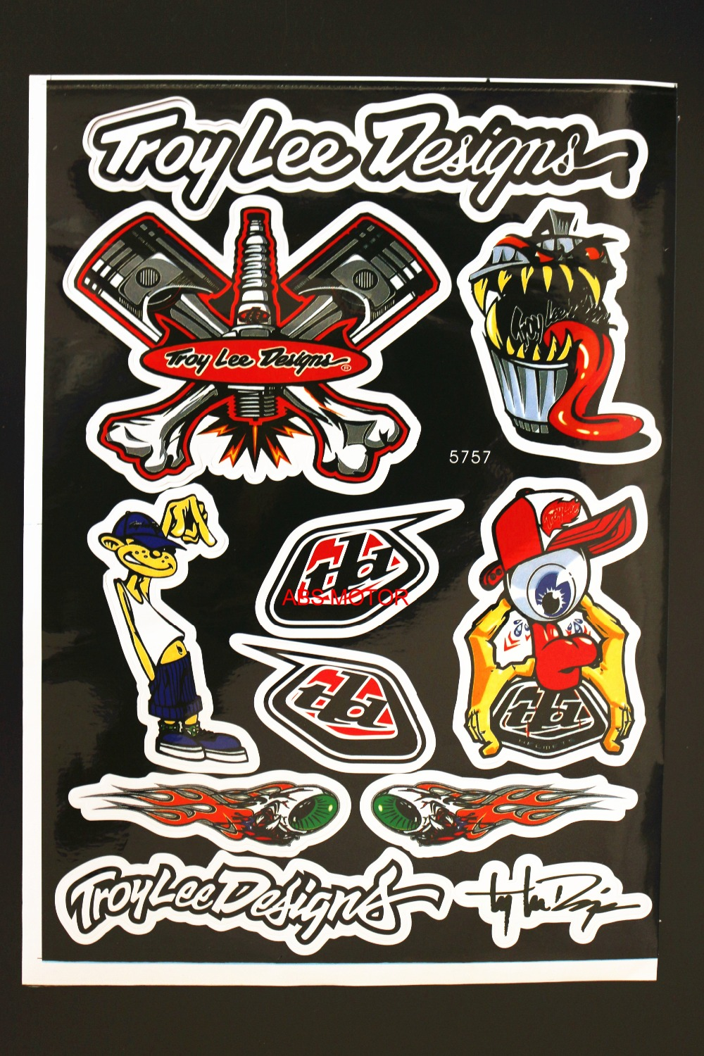 Sticker design for bike - 2ps Free Shipping Decals Stickers For Pit Bike Dirt Bike Motorcycle Motocross Supermoto Atv Crf Yzf