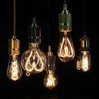 Tianfan светодиодные лампы Винтаж свет Светодиодная лампа, лампы накаливания спираль Сердце 4 W 110/130 V 220/240 V E27 лампа Эдисона