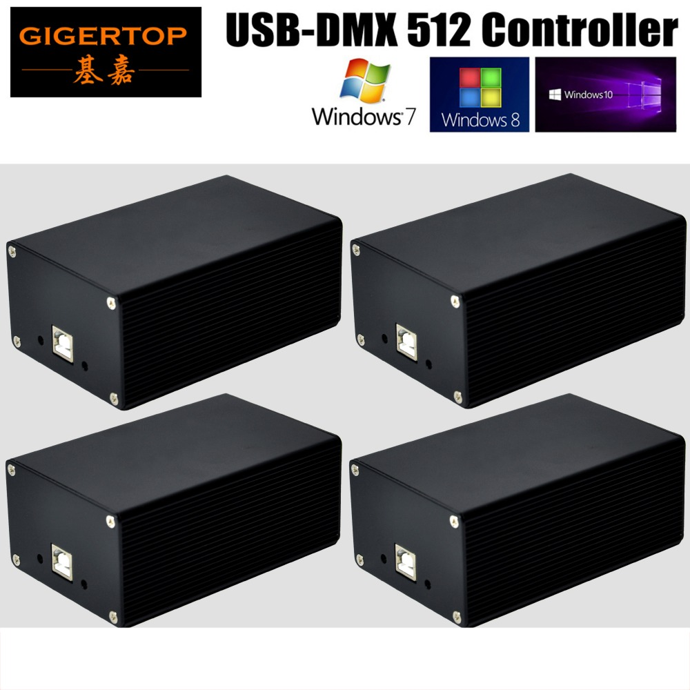 Freeshipping Quman HD512 BOX USB-DMX512 Dongle USB Stage Light Dmx512 Interface Computer Controller Professional Led DMX Control