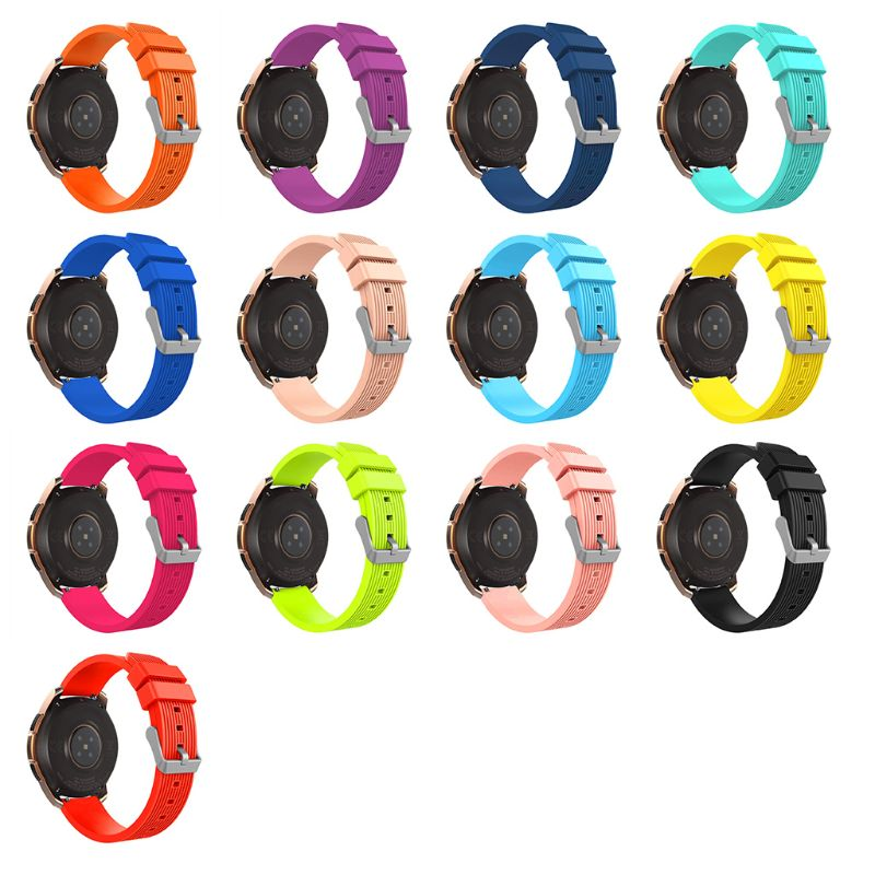 Watchband Wrist Strap Bracelet Silicone Sports Band Replacement for Samsung Galaxy Smart Watch 42MM