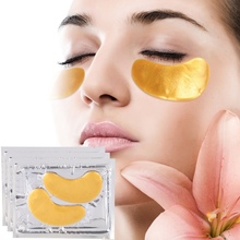 10 Pairs Gold Crystal Collagen Eye Mask Eye Patches Eye Mask