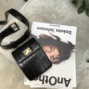 Fanny Pack belt bag animal print alligator waist bag women luxury brand leather 2018 fall winter hight quality wholesale 3