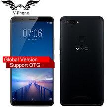 """Mondiale firmware VIVO X20 Plus Mobile téléphone Snapdragon 660 4 GB RAM 64 GB ROM Éboulis full 6.43 """"double Arrière Caméra 4G LTE Téléphone Portable"""