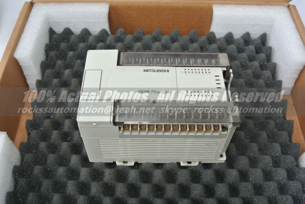 FX2N-32MR-001 Used Good In Conditon With Free DHL / EMS new original fx2n 48mr 001 with free dhl