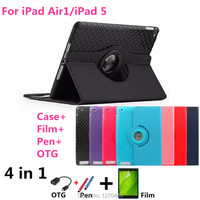 Luxury Magnetic Color Painted PU Leather For Apple IPad Air Stand Case For IPAD Air1 For