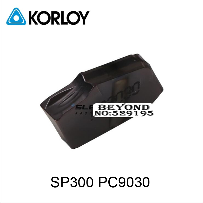 SP300 PC9030 original Carbide Two headed Cutting Korloy Coating Turning Insert For Grooving Holder Zq