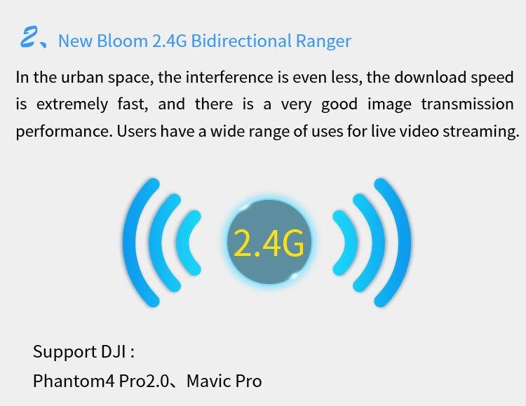 Alentech 3 Dji Mavic 2 Prozoom Phantom 4 Pro V20 Signal Booster