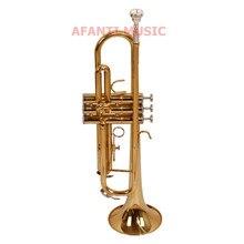 Afanti Bb Тон Латунь корпус позолоченная труба с лаковым покрытием(ATP-144