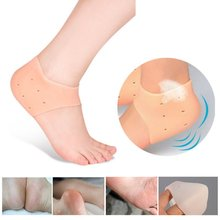 1Pair Foot Chapped Care Tool Moisturizing Gel Heel Socks for Cracked Skin Care Protector