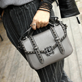 Women fashion bags Chain decoration handbag PU LeatherRetro Messenger Bag