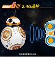 2.4 Г Звездные войны RC BB-8 Робот дистанционного управления BB8 робот умный маленький шарик ИГРУШКИ Творческий без батареи