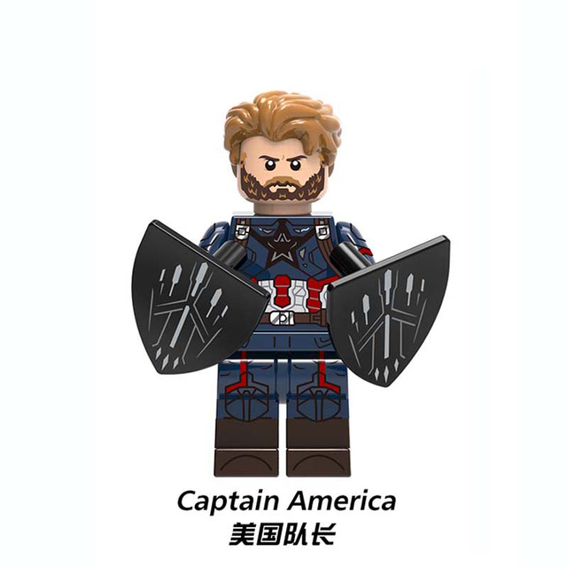 HOT Avengers 3 Infinity War Building Blocks Toys Figures Legoing Marvel Thanos Iron Man Corvus Glaive Capation America Groot  5