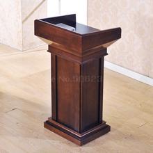 Твердый деревянный Подиум речевой стол приветственный приемный стол для учителя Подиум Свадьба размещенные обеты