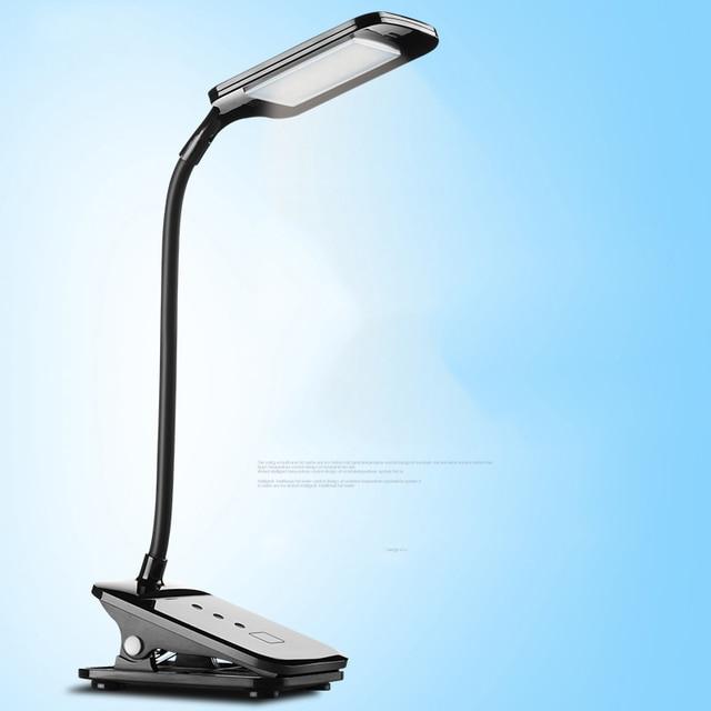 Специальное предложение из светодиодов глаз-предохранение студент исследование спальня общежитие лампы для чтения складной USB зарядка клип настольная лампа