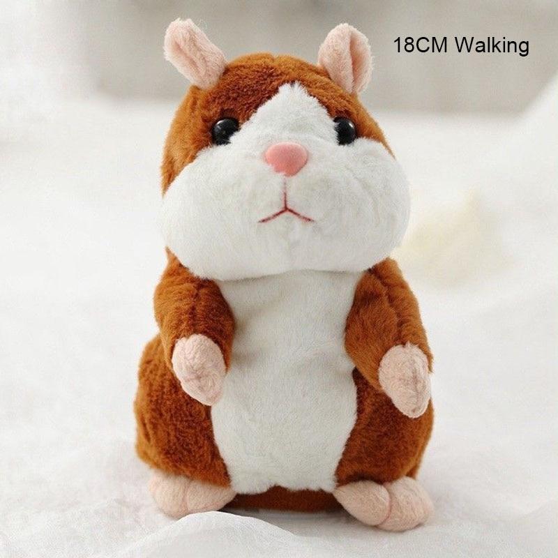 Lovely Walking Nodding Hamster Children Kid Plush Toy Hamster Animal Educational Toy BM88