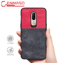 For Oneplus 7 Case Back Cover One Plus 6T 6 5 5T Mobile Phone  1+7 Silicone Jean Fabric ultra thin matte
