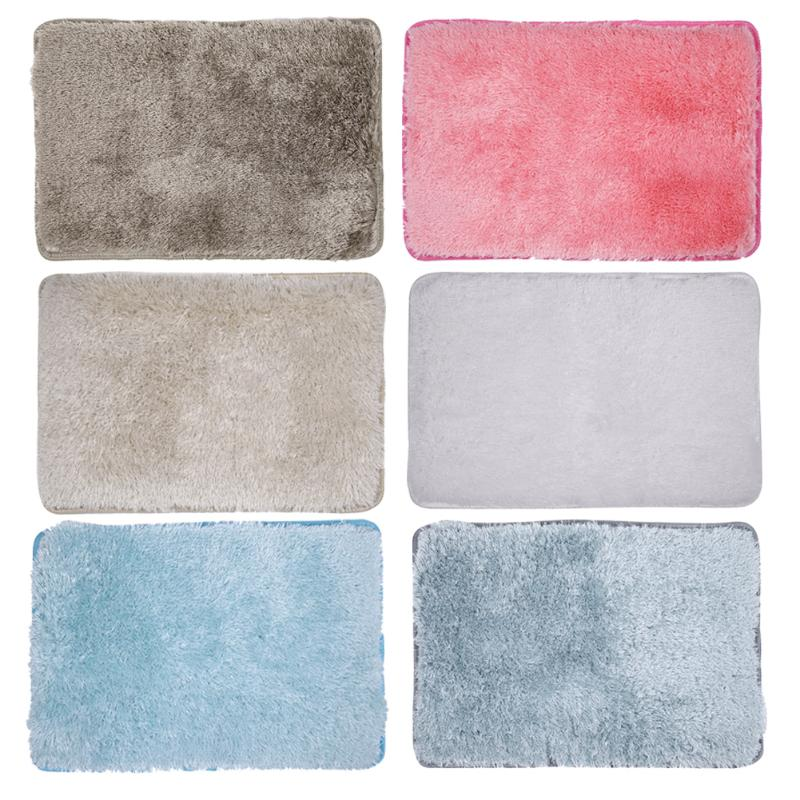 Home Textile 90x60cm Rectangle Dining Room Home Carpet Floor Fluffy Rugs Mat Wool Carpet Anti-skid Chair Bedroom Gift For Valentines Day Durable In Use